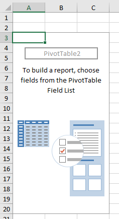 Pivot Table creation