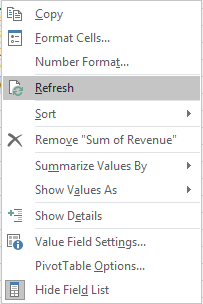 Hide screen updating excel