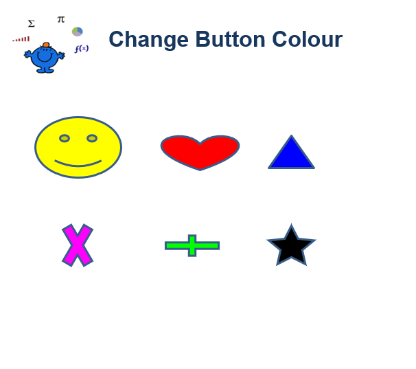 Change button colour vba