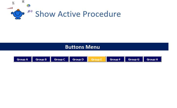 Colour buttons vba