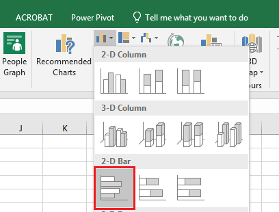 Bar Chart Excel