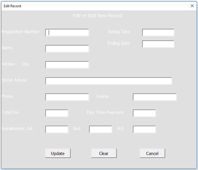 Userform populate