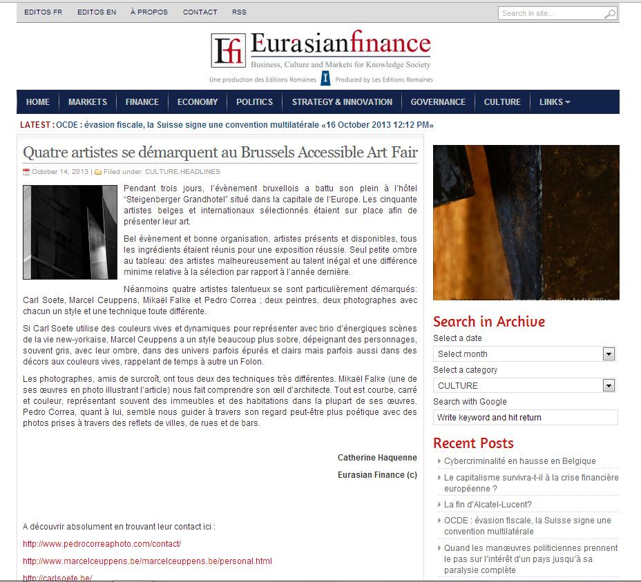 Eurasian Finance