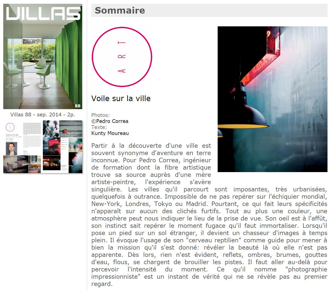 Villas Magazine