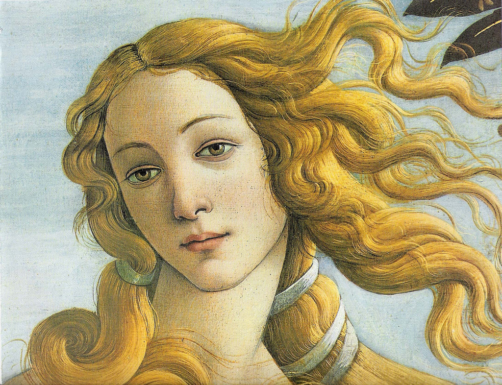 Sandro Botticelli, Birth of Venus, Detail, c1486.jpg