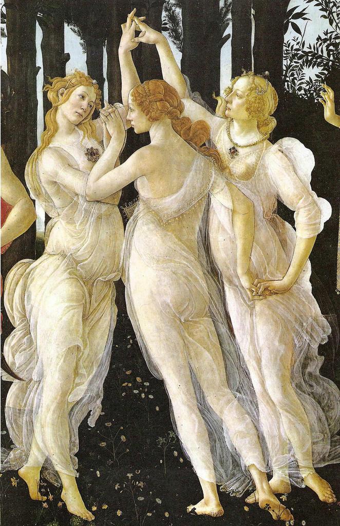 Sandro Botticelli, Primavera, Detail c1477-78.jpg