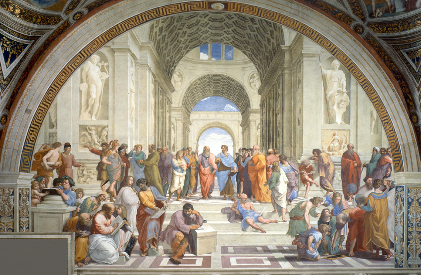 School of Athens, Raphael c1509 .jpg