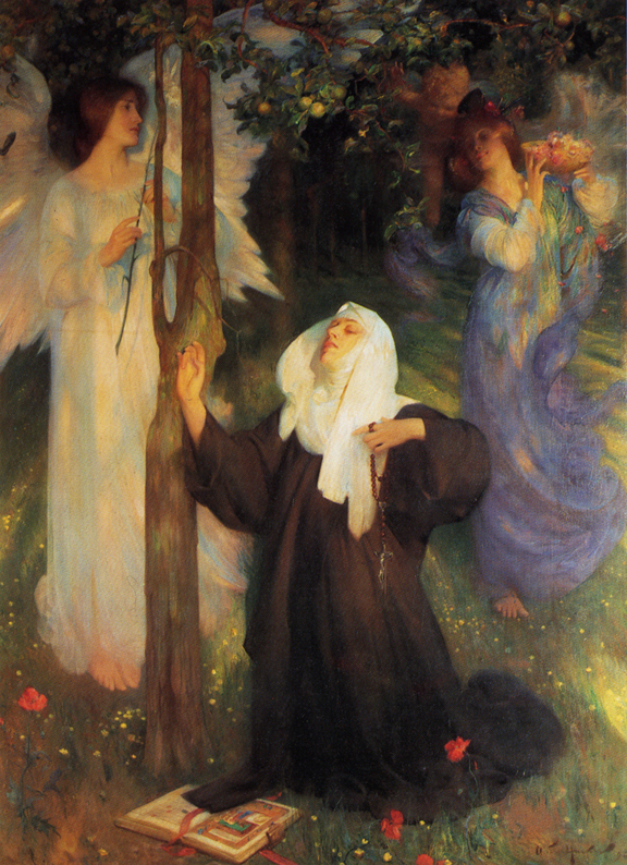 The Cloister Or The World, Arthur Hacker, c1896.jpg