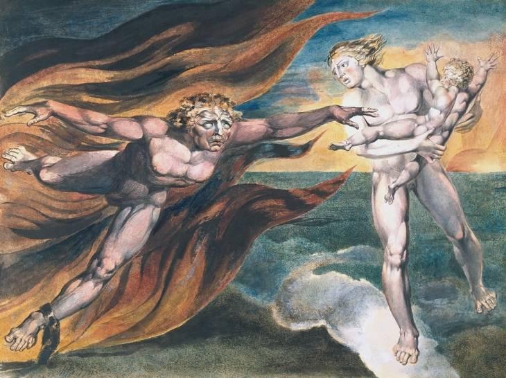 The Good and Evil Angels, William Blake c1805.jpg