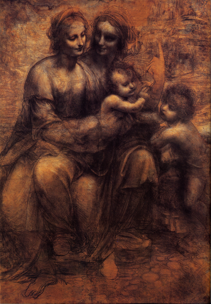 Virgin with Saint Anne, Leonardo Da Vinci, c1499.jpg