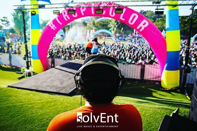 Our weekend at @thecolorrunsg for the 4th year with Jason Kai on the decks. Thanks to all who partied with us, see ya next year. #colorrun #thecolorrun #thecolorrunsg #dj #musicfestival #talentmanagement #entertainment #livemusic #liveentertainment #entertainment #band  #singapore #5k
