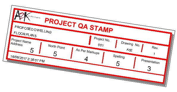 QA stamp