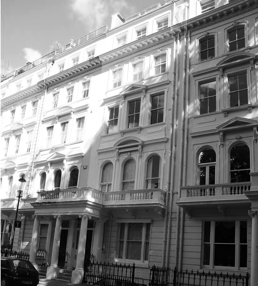 Reordering of five apartments in Grade II listed building, with mansard and lower ground floor extensions which enabled creation of a new unit