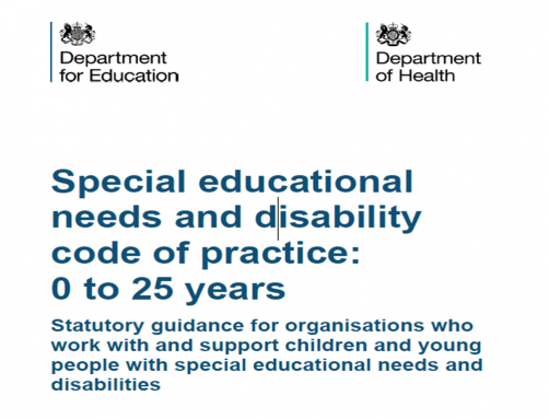Special Education Needs and Disability Code of Practice