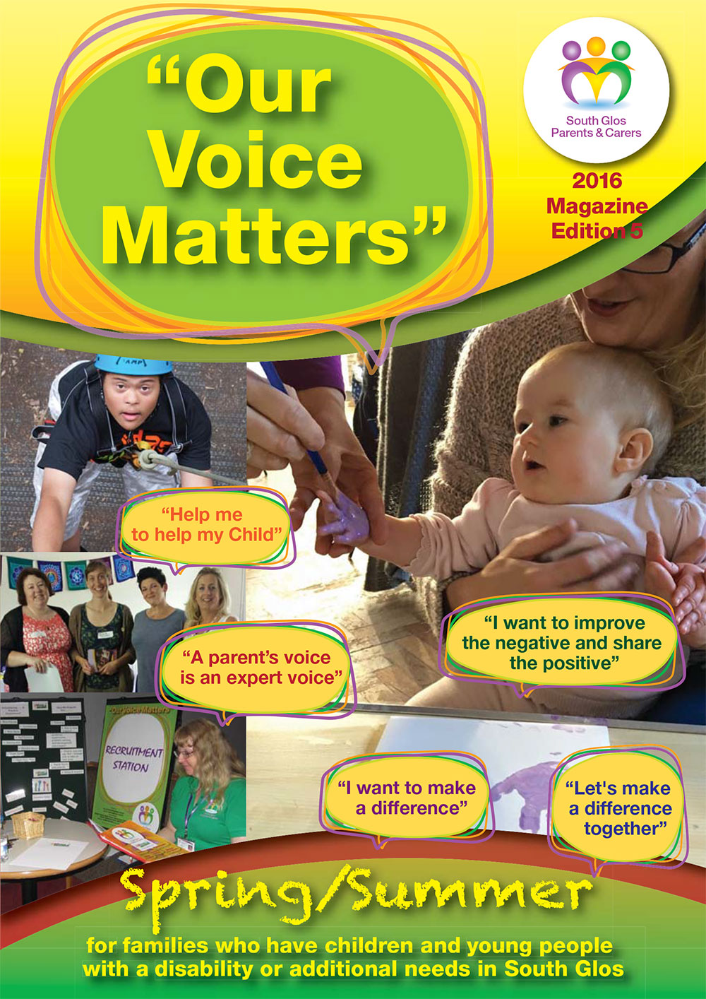 Our Voice Matters Magazine