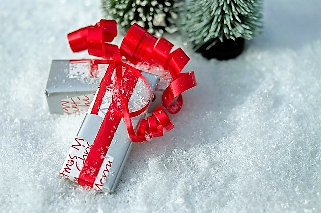 wrapped gift on snow.jpg