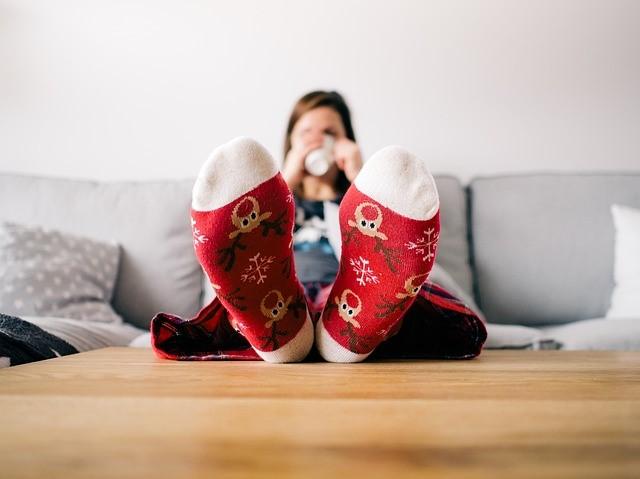 We wish we had 5 minutes for a snug festive cuppa