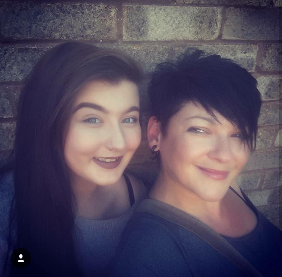 Nikki and her daughter Indiana