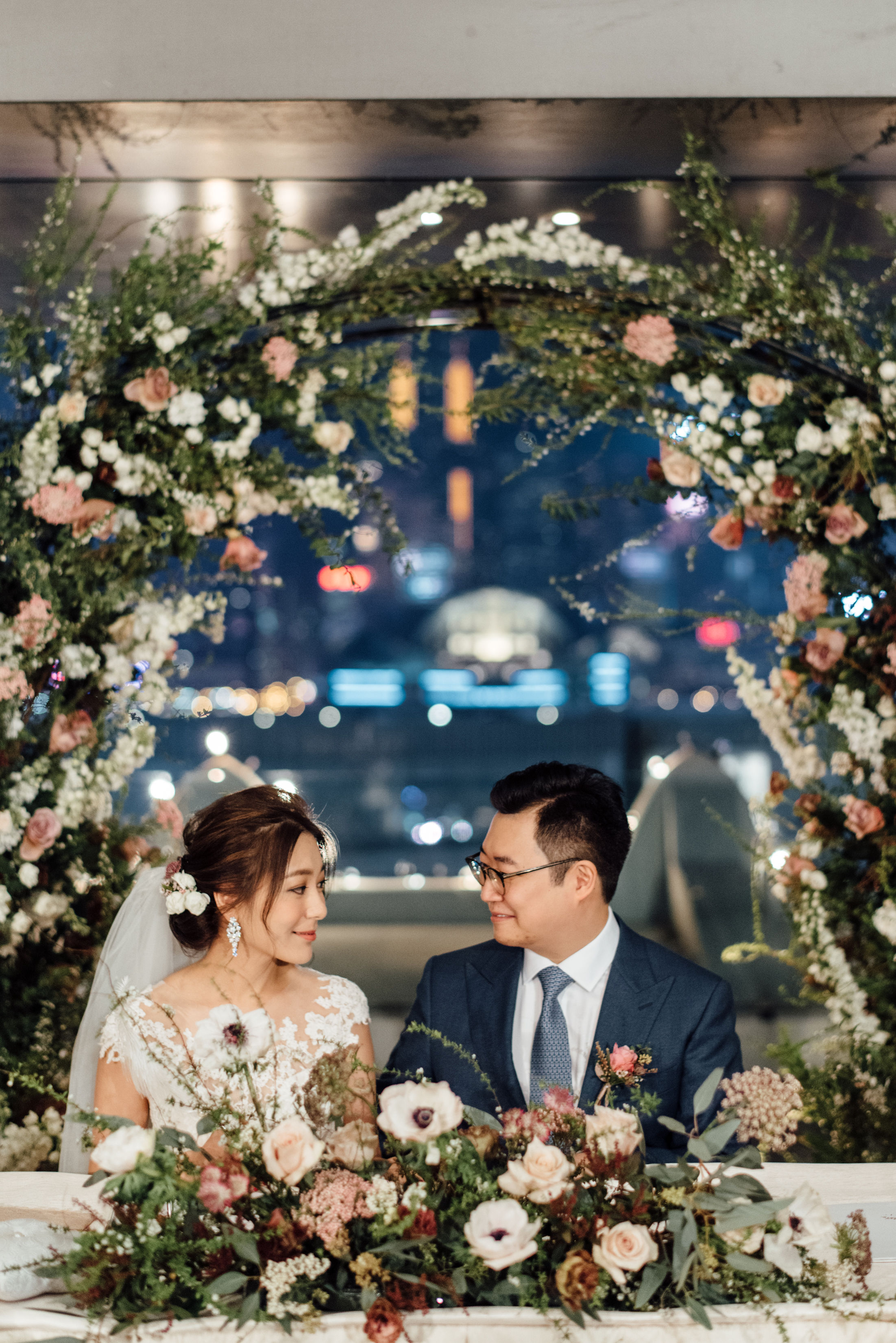 ELAINE & STEPHEN  GARDEN SUITE, PENINSULA HOTEL HONG KONG  Photography by Lauhaus