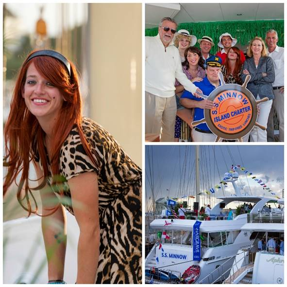 M/V  Renaissance went all out for the Yacht Hop with a Gilligan's Island theme. (photos by Jennifer Tinkoff)  Click photo to download in high resolution