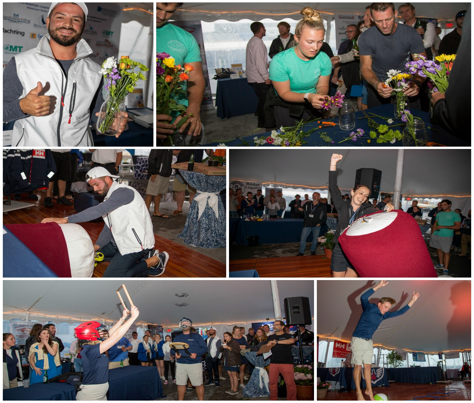 Scenes from the Captain & Deck Challenge at the 2019 Newport Charter Yacht Show presented by Helly Hansen Newport. (Photos by Billy Black)