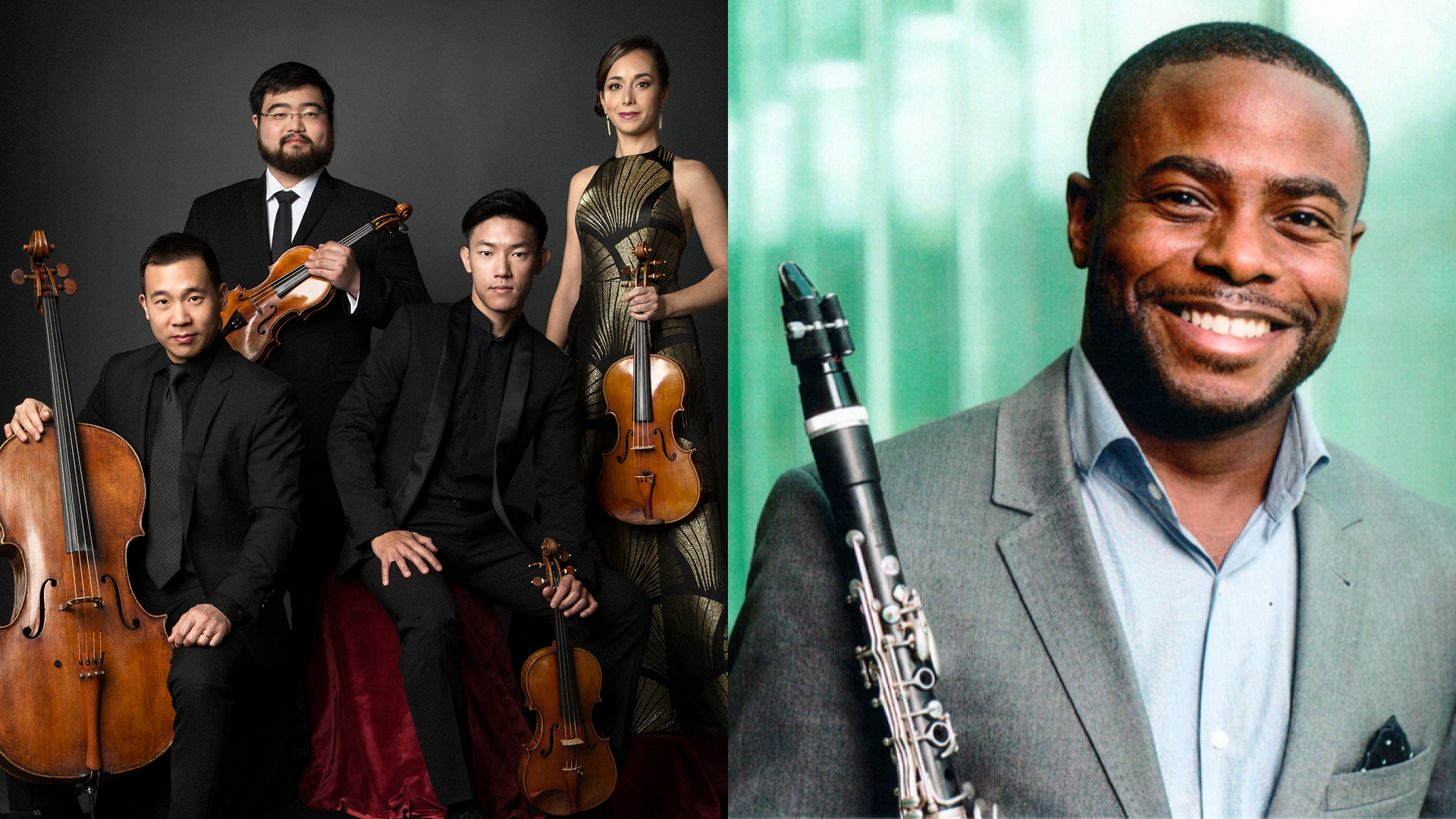 Parker Quartet and Anthony McGill