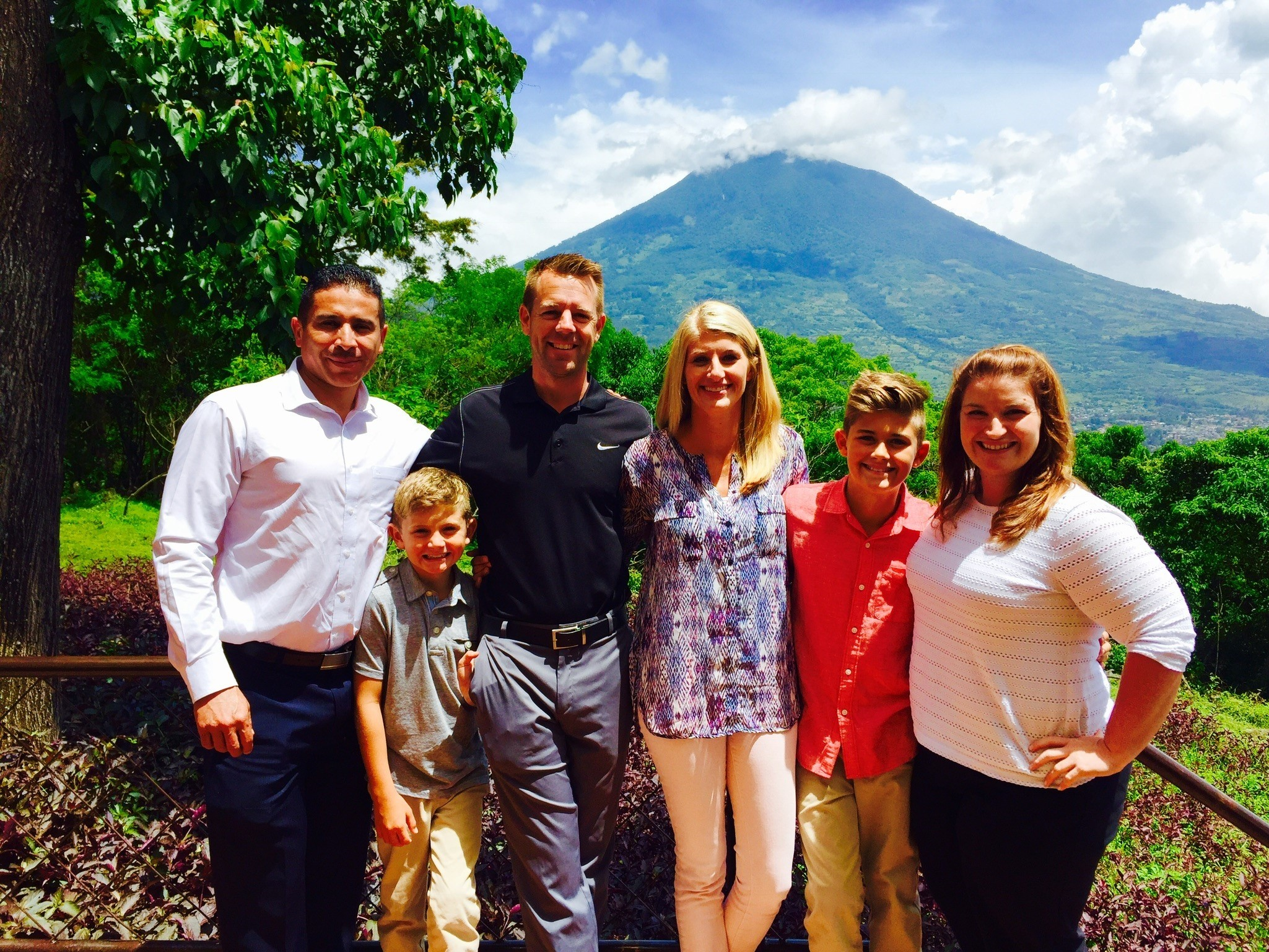 The Steill family in Guatemala