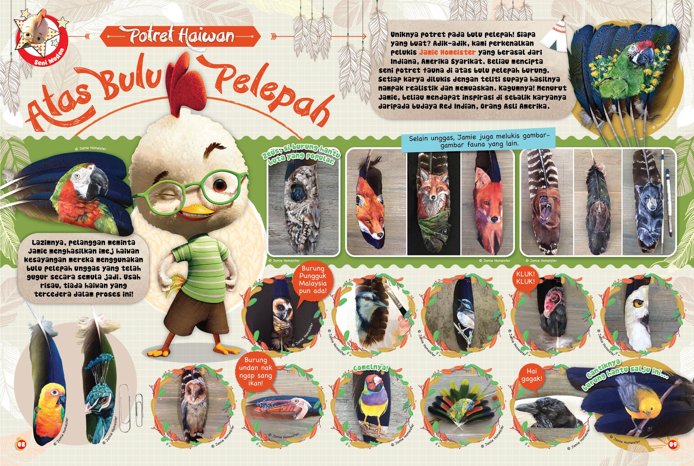 Artist Interview: Disney Magazine, Malaysia - Disney Magazine