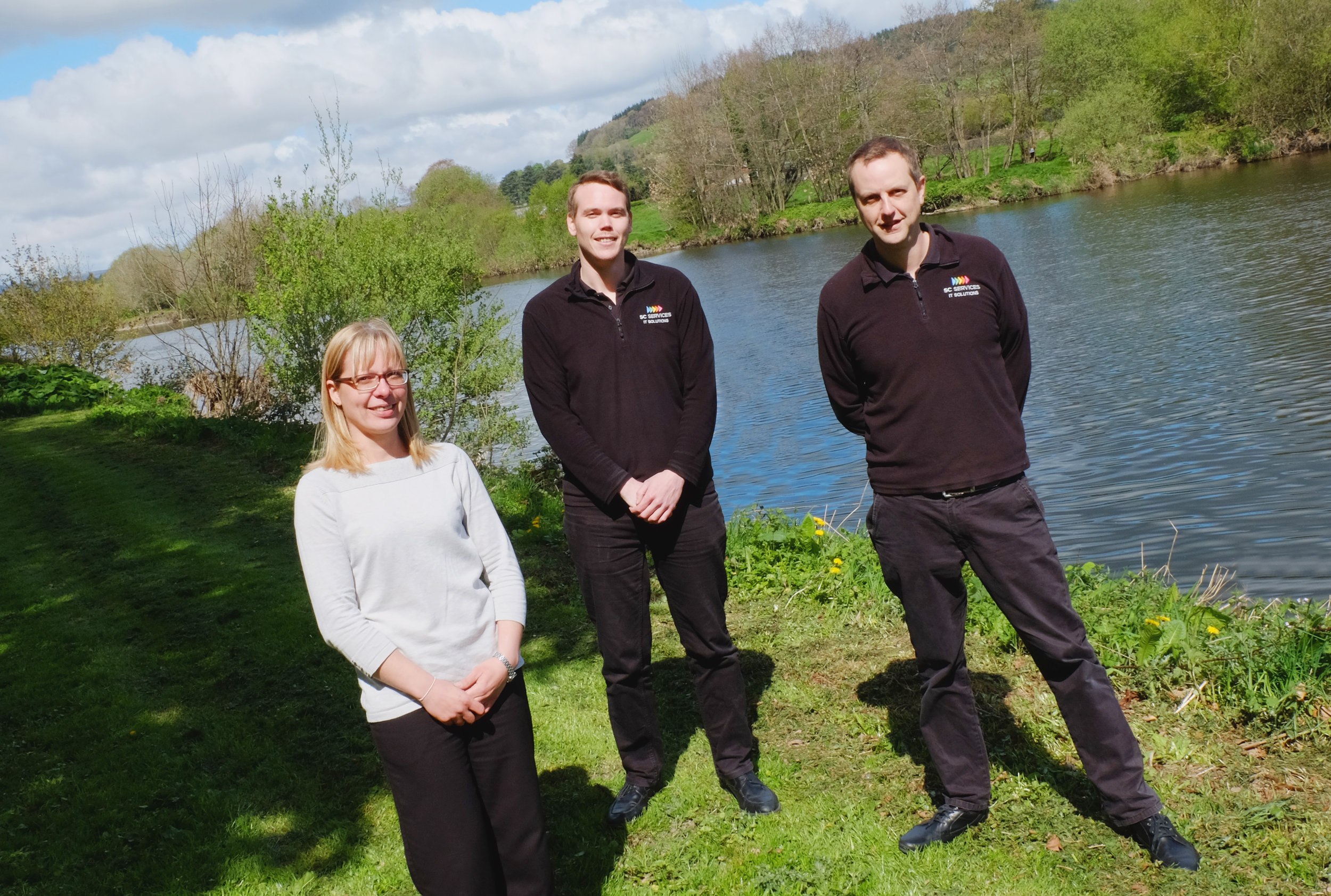 Company Directors (from left to right): Kat Cook, Huw Jones, Mike Cook