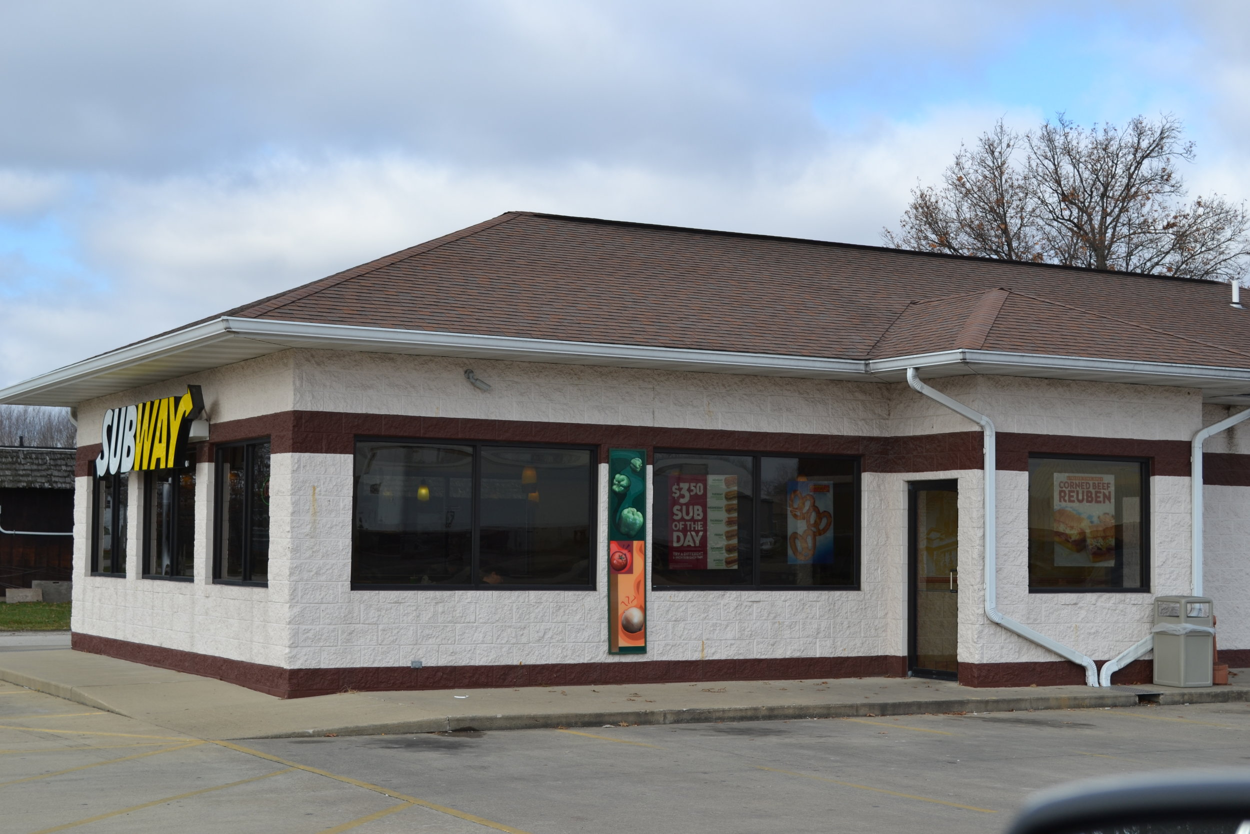 Subway Robinson, IL.