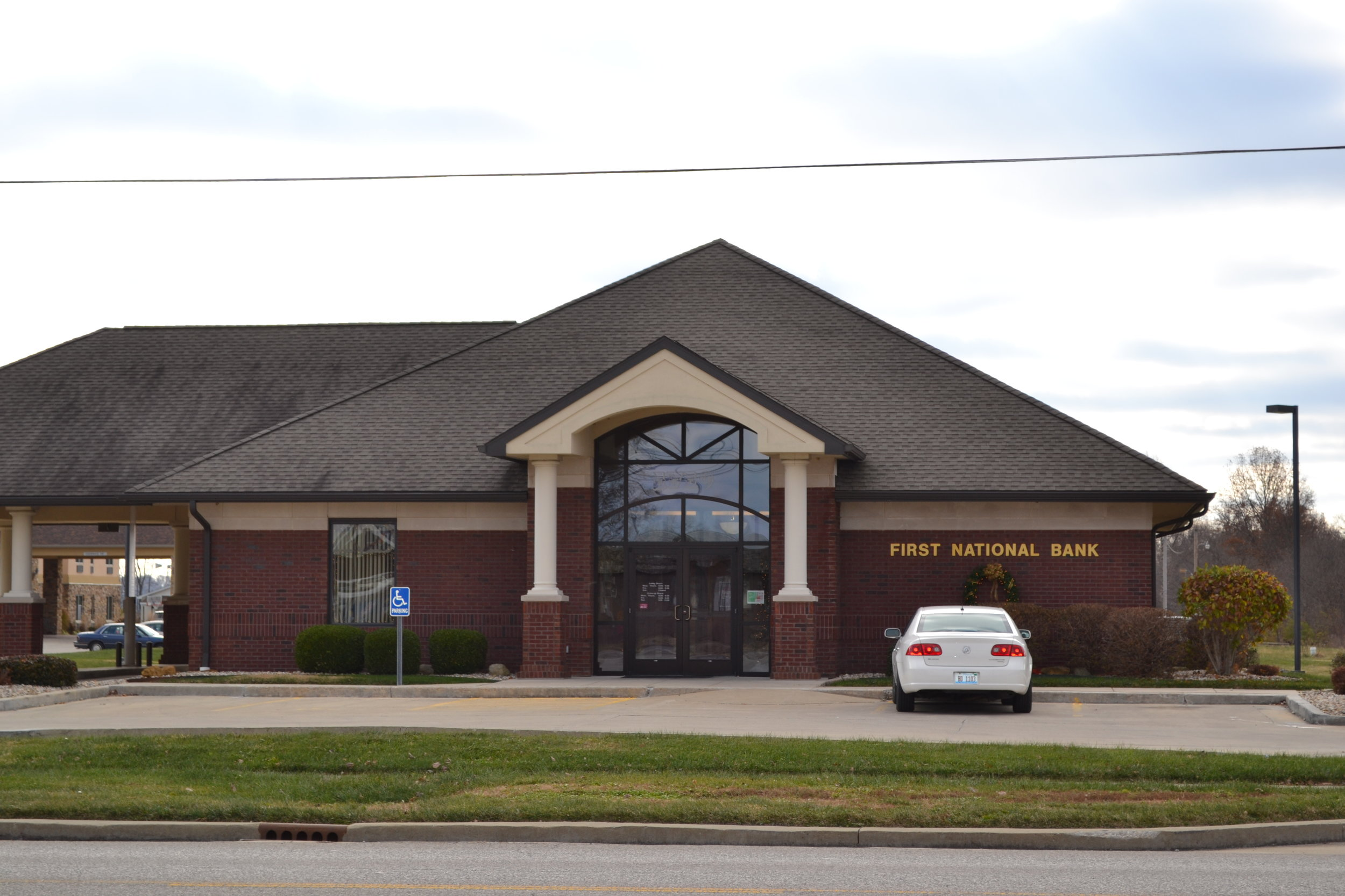First National Bank, Robinson IL.