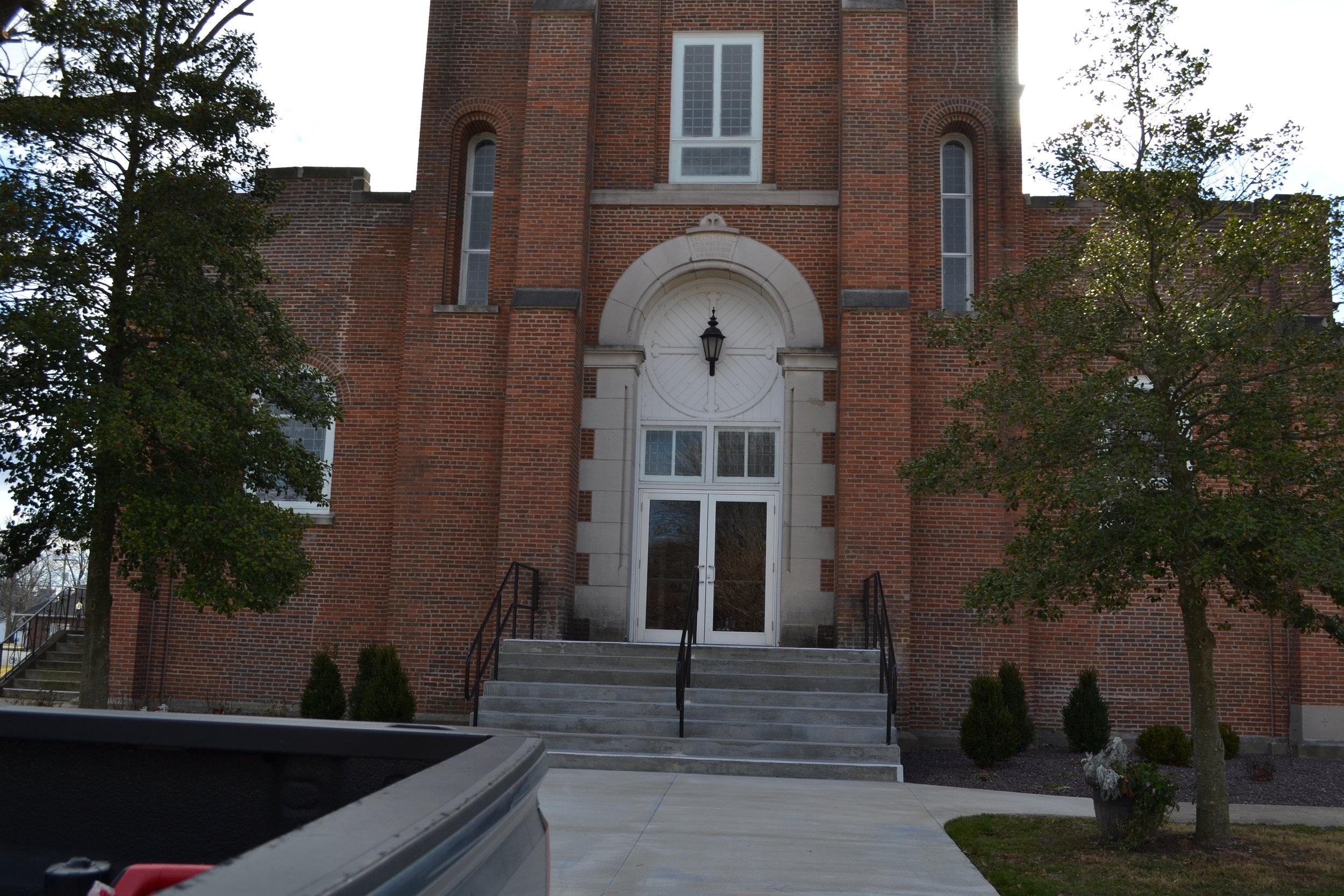ST Marie Church, St Marie IL.