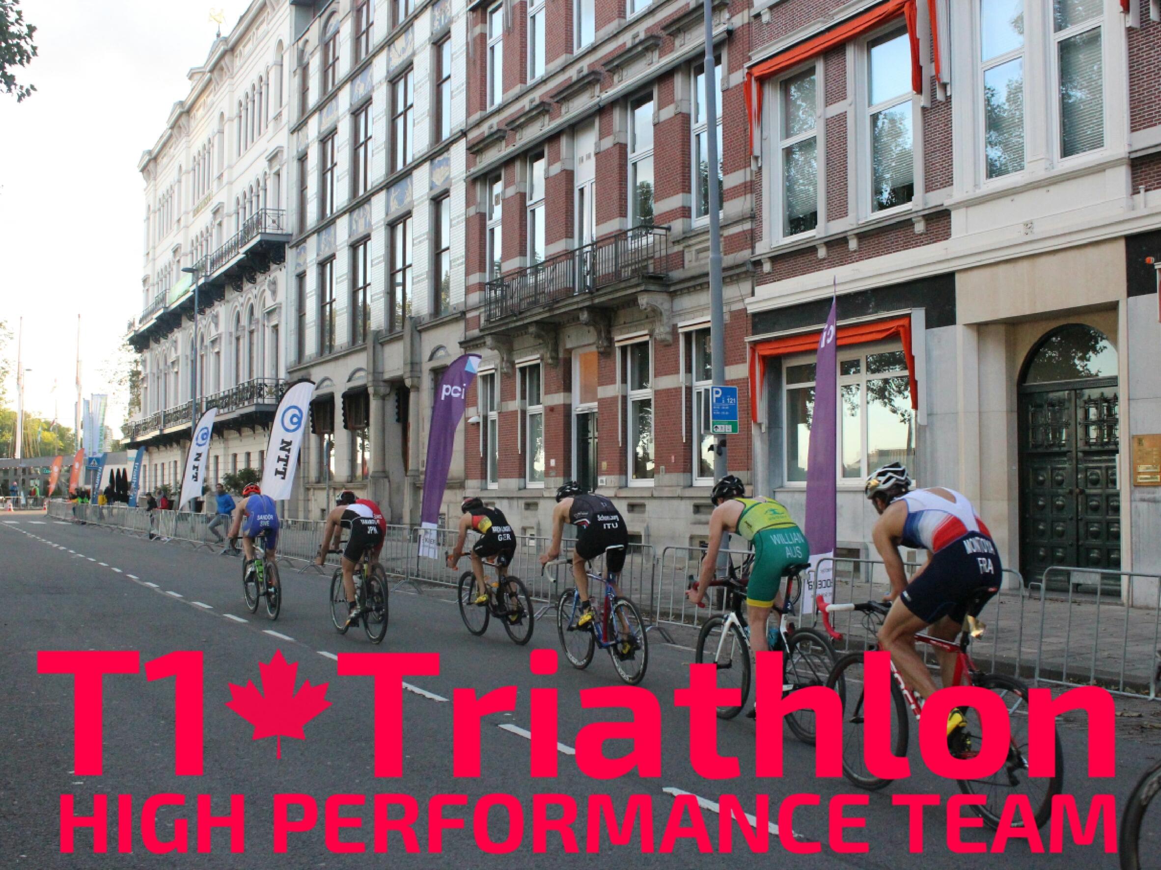 T1 Triathlon High Performance Team in Rotterdam
