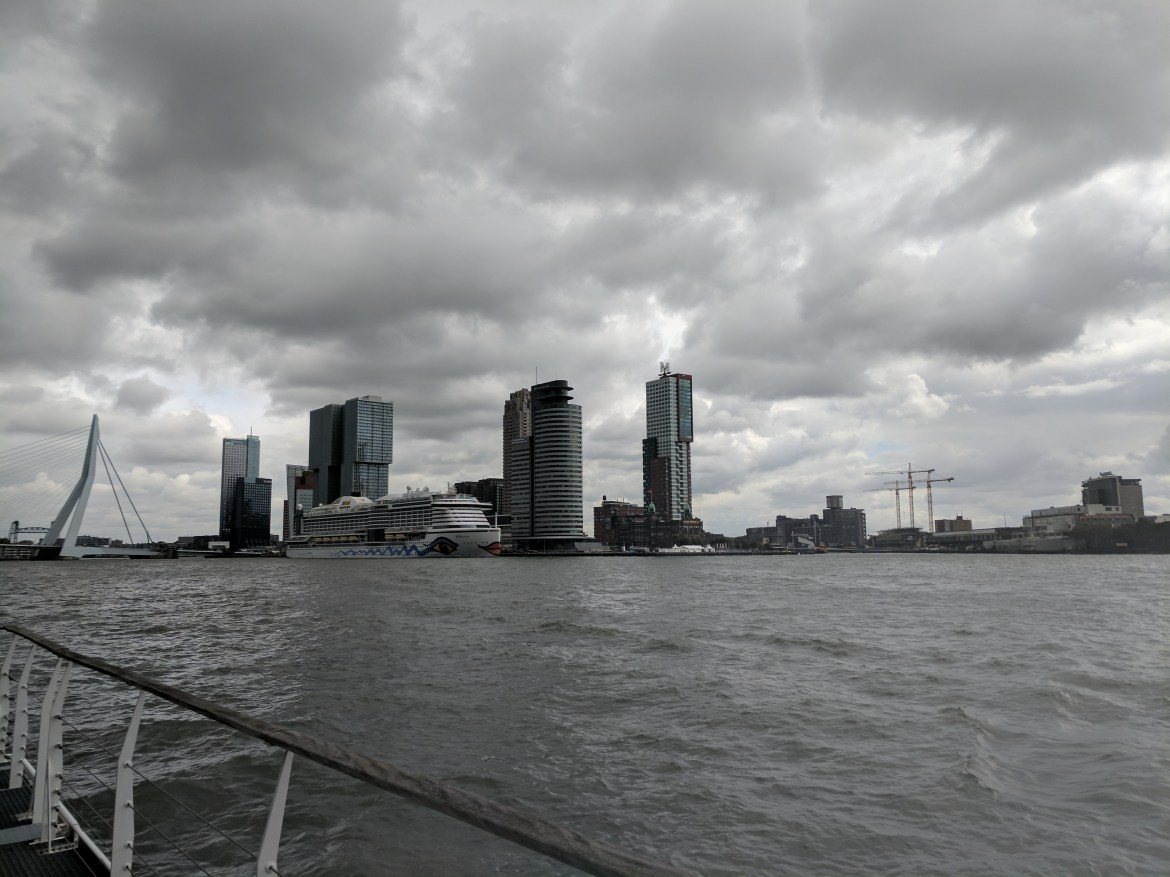 Rotterdam Harbour Netherlands Race Day