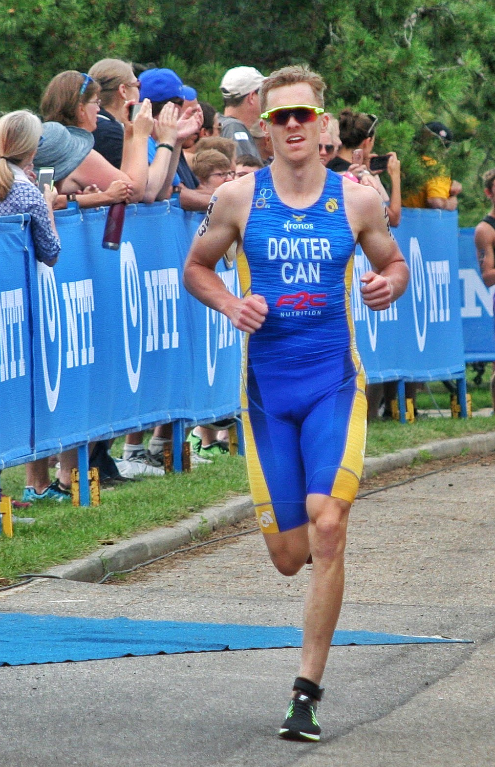 Eric Dokter T1 High Performance Triathlete