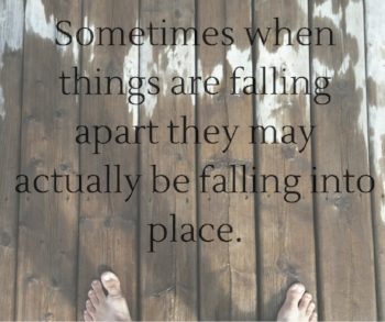 We ALL have trials and heartache - it's just a part of life. Rather than allowing these misfortunes to drag us to to misery, allow them to be a stepping stone to bigger and better things.