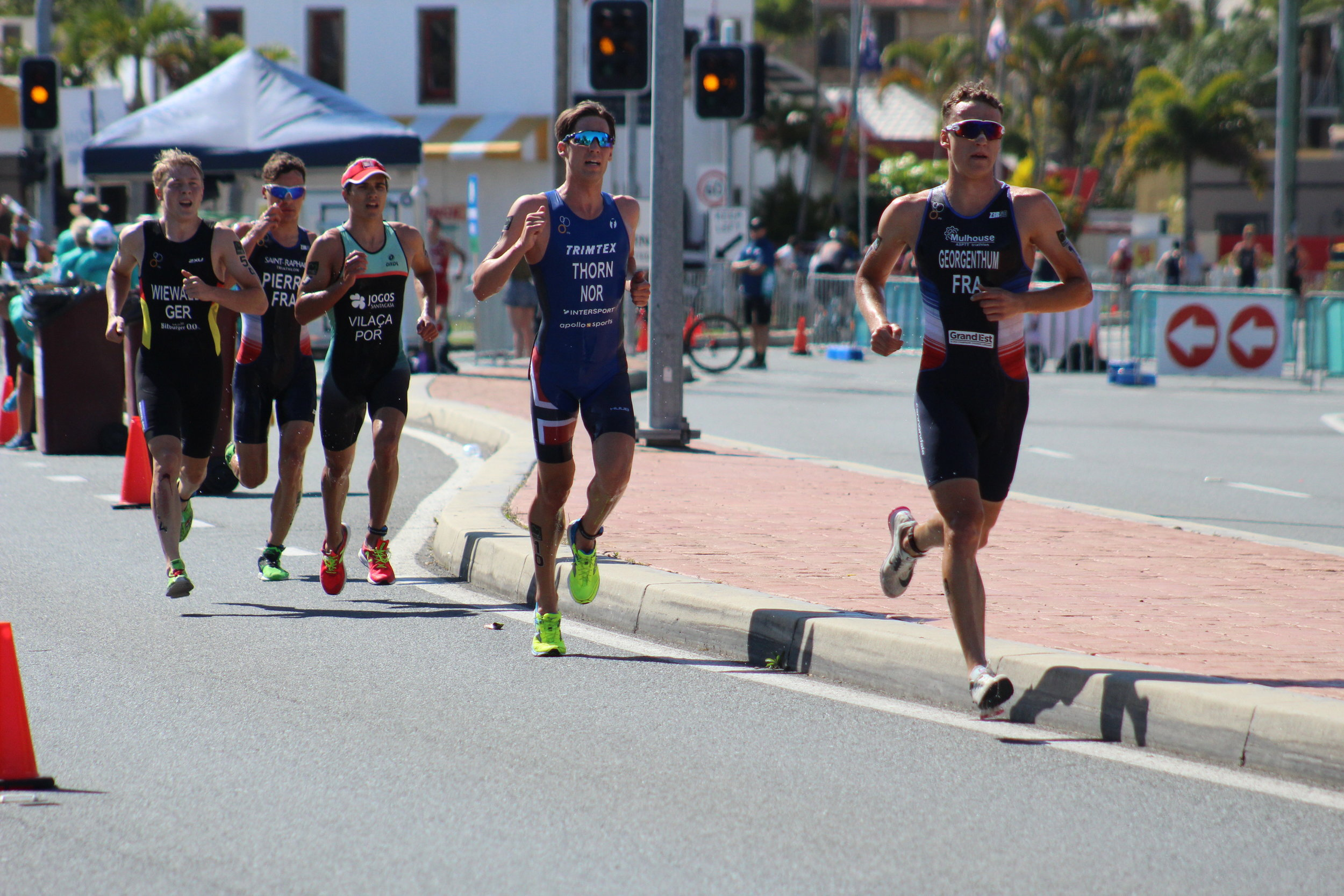 triathlon is variety: swim bike and run