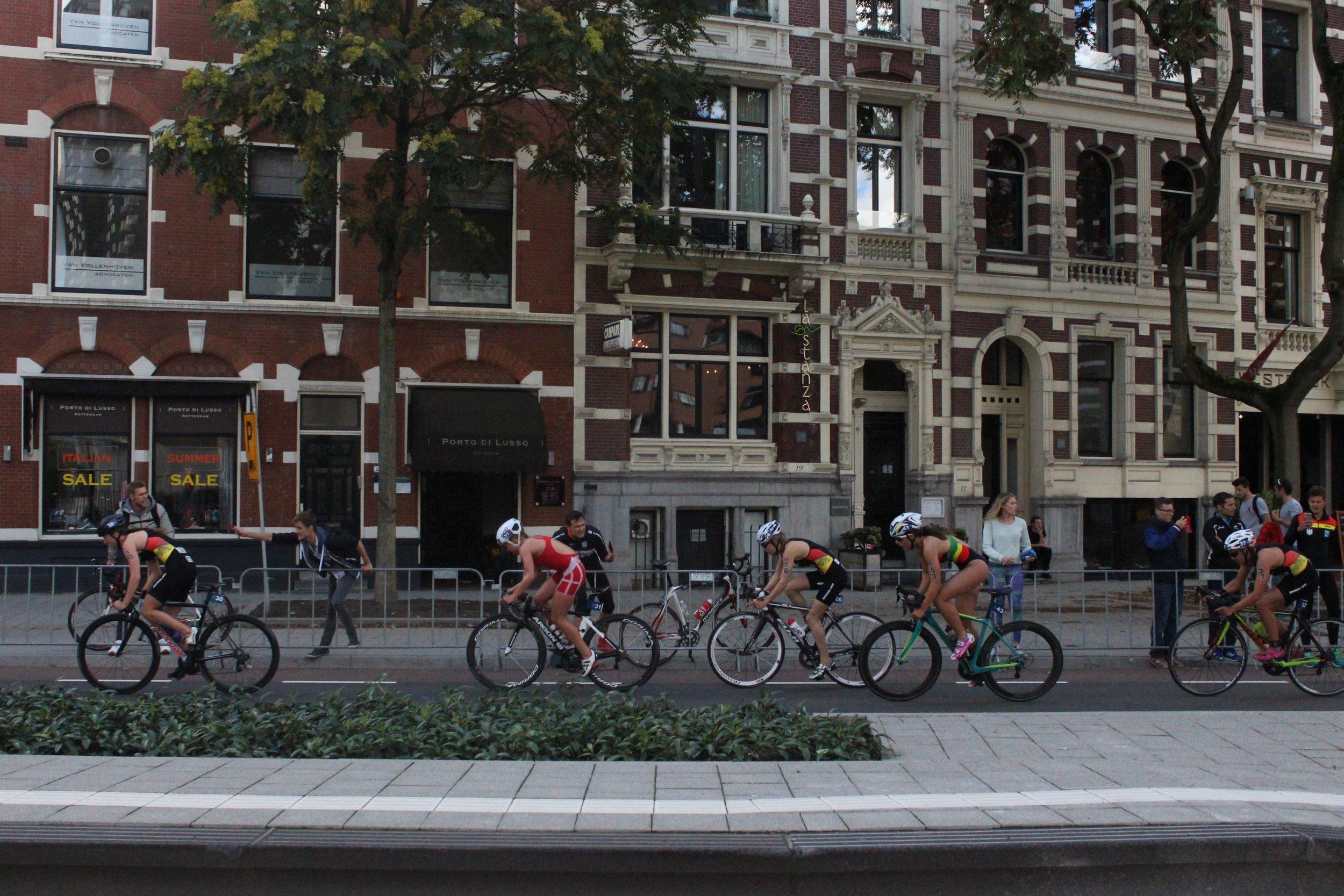 Triathlon in Rotterdam Netherlands