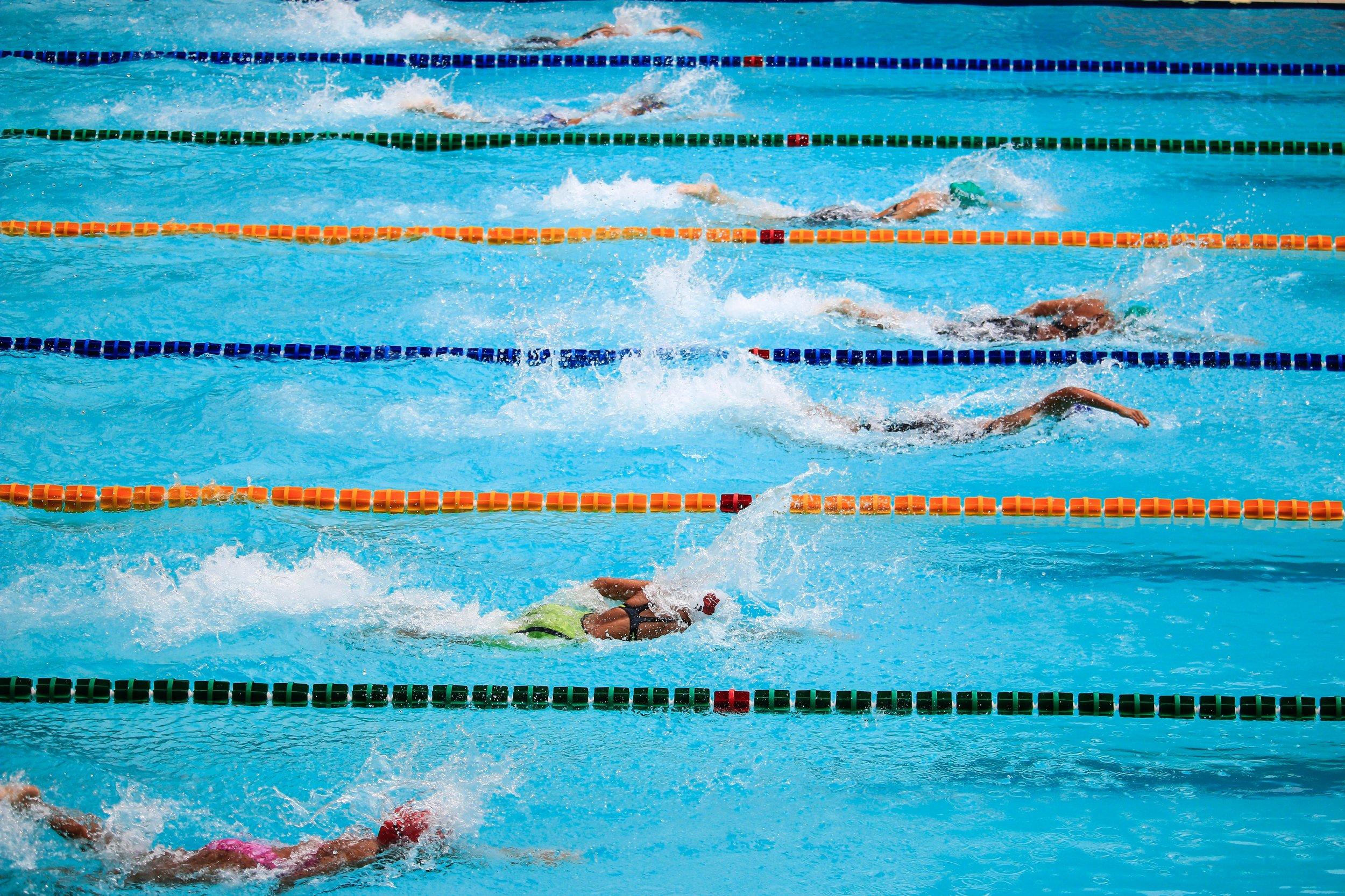 Swim Races can prepare you for your triathlon season