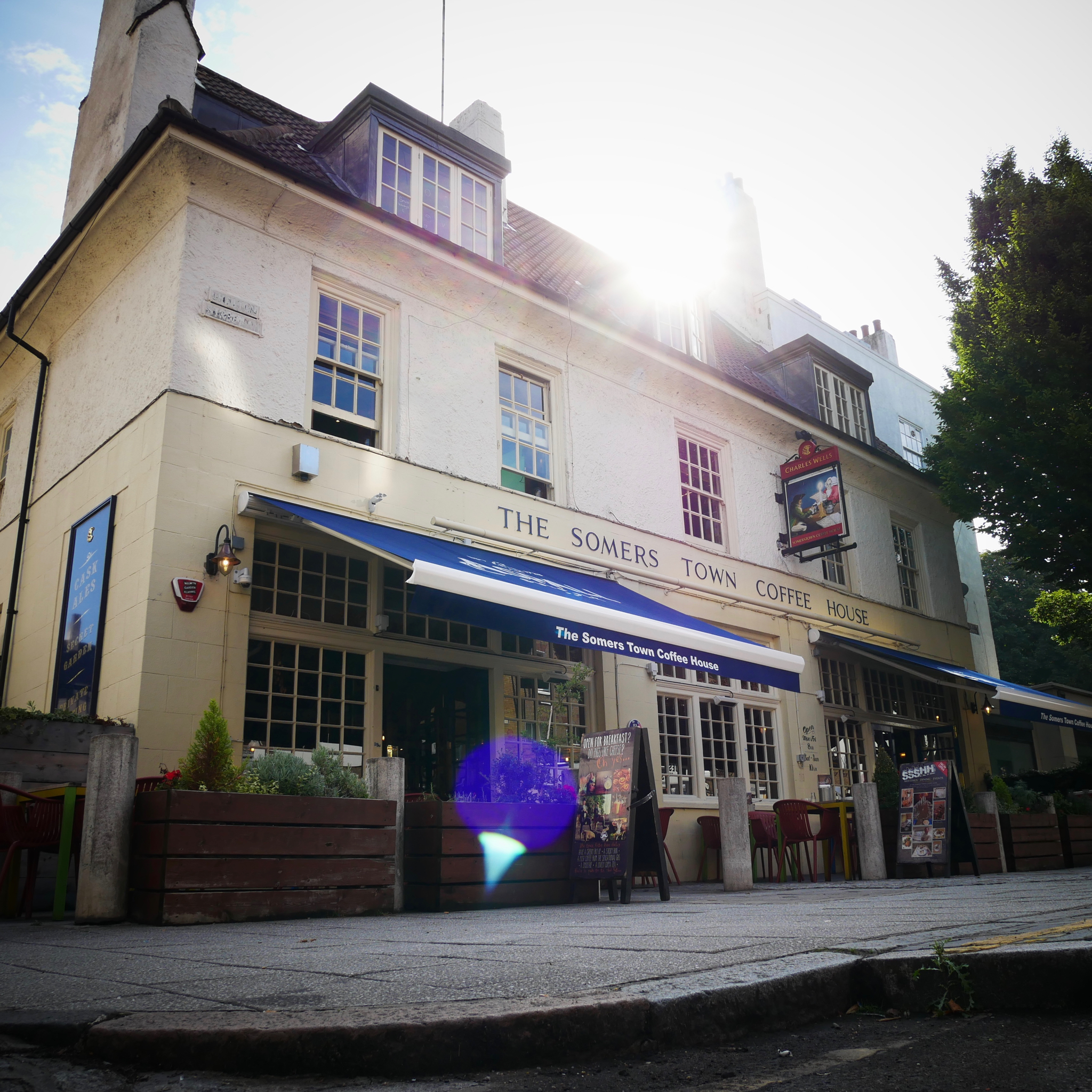 The Somers Town Coffee House Home Yummy Pubs