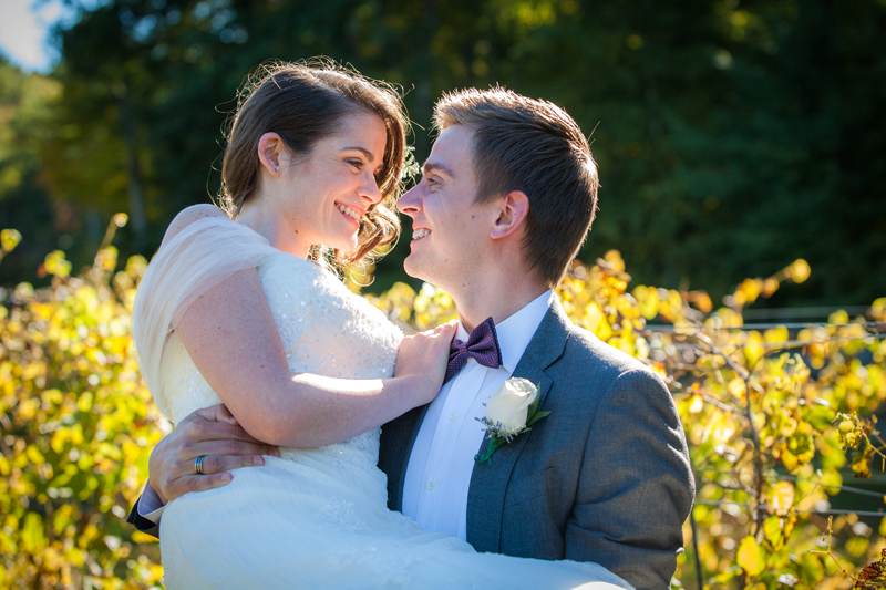 Wedding Photography at Zorvino's Winery in Sandown NH