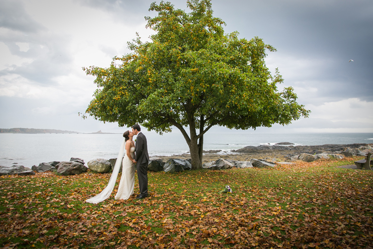 Wedding Photography at the Great Island Commons in New Castle NH