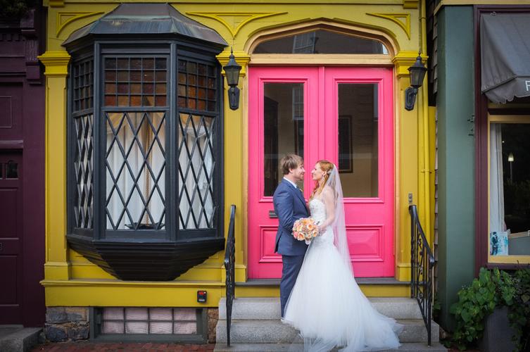 Wedding Photography at the Hotel Viking in Newport RI.