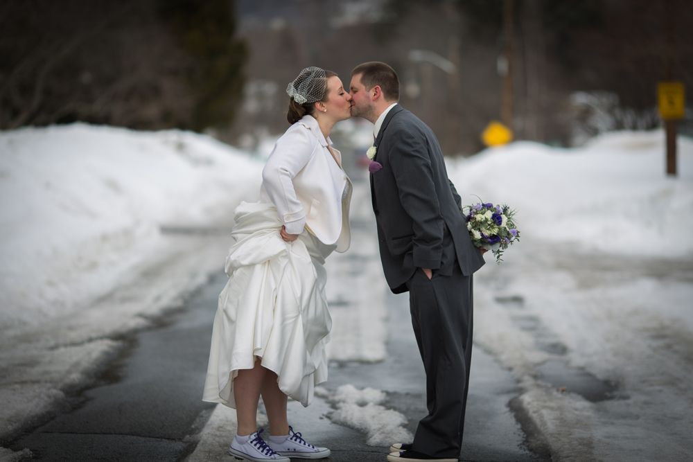 March wedding photography in Haverhill MA.