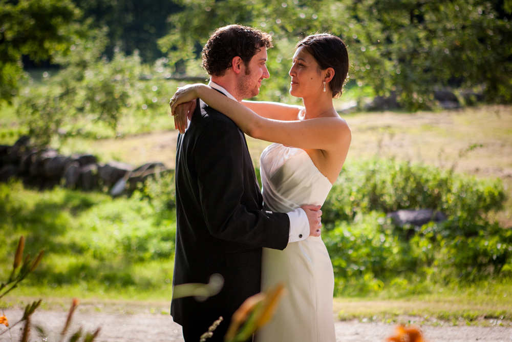 Candid wedding in the White Mountains, North Conway, NH