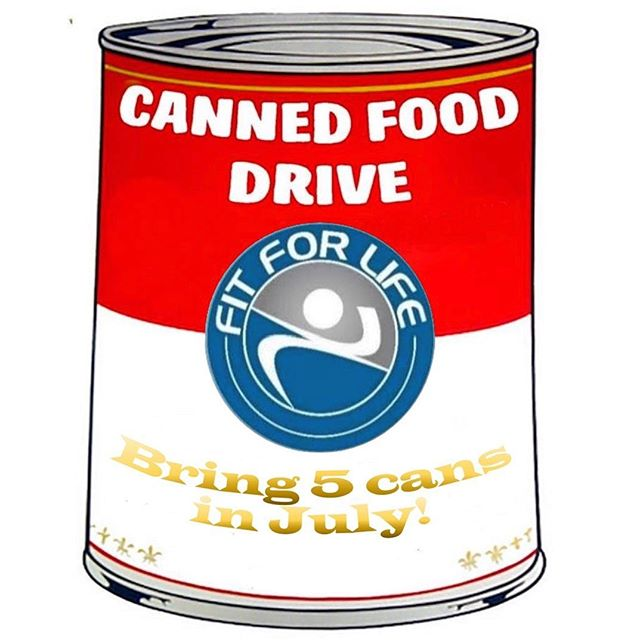 ONLY 9 DAYS LEFT!  Fit For Life is always trying to do our part in the community, so we are doing a canned food drive to help feed the homeless.  If you want to contribute this is how -  For the month of July if you bring 5 cans, you get a complimentary month membership, and if you bring 5 more cans, we waive your enrollment fee!  For current members, if you bring 5 cans, you get a complimentary body analysis and personal training session!  Thank you in advance for helping feed the homeless!! CALL (817)292-8101 & ASK FOR STEPHEN for details.  OR DM US HERE!  click this link to try a session! ⬇️⬇️⬇️⬇️⬇️⬇️⬇️⬇️⬇️⬇️ www.fflresults.team/freetrial  #fitness #gym #fortworth #dfw #sale #fit #coach #personaltrainer #workout #lift #trainer #weightloss #summer #summerbody #results #miltary #militarydiscount #veteran #veteranprograms #buddy #swolemates #spotter #free #candrive #canfood #homeless #cannedfood