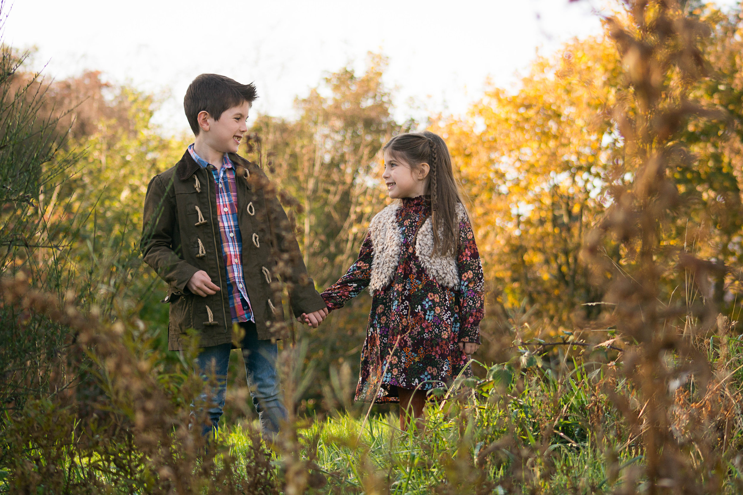 sibling shot - family - photographs - outdoors - paisley