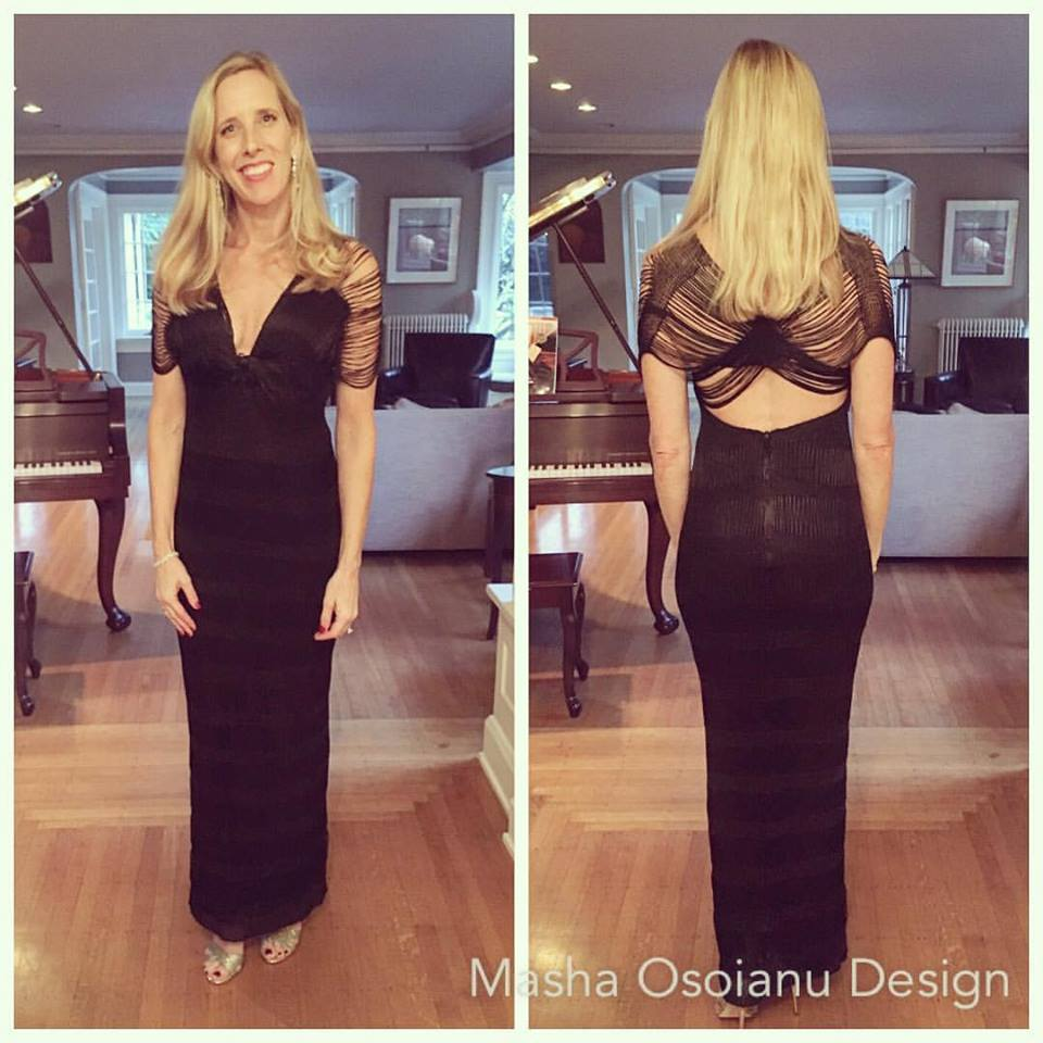 ... Kayley attended gala in her own custom Knot Gown. Isn't she gorgeous?!!!!