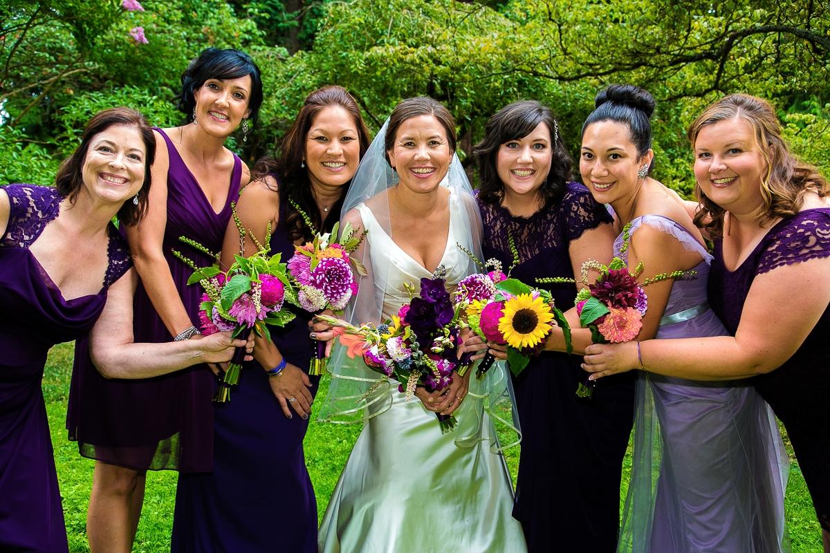 sarah and bridesmaids - mod bracelets (image by Karen Mason Blair)