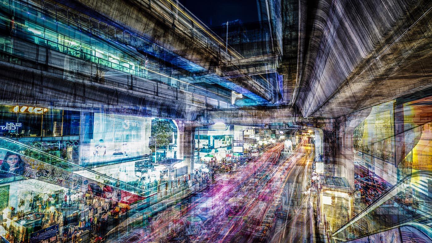 LDKphoto - BKK Thanon Rama Traffic